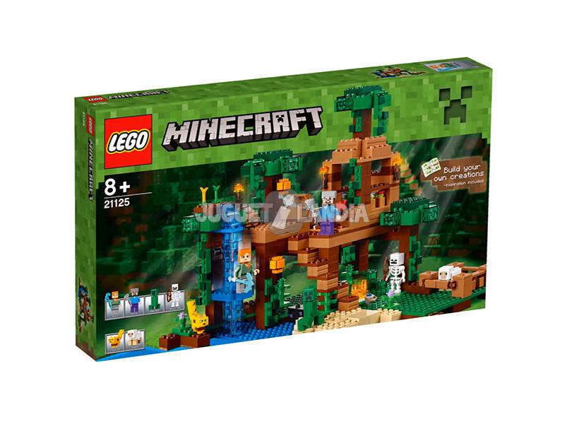 Lego Minecraft La casetta sull'albero della giungla