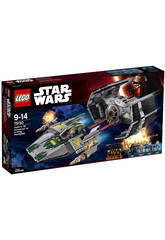 Lego Star Wars Vader´s Tie Vs A-Wing Starfighter