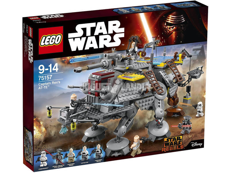 Lego Star Wars AT-TE di Captain Rex