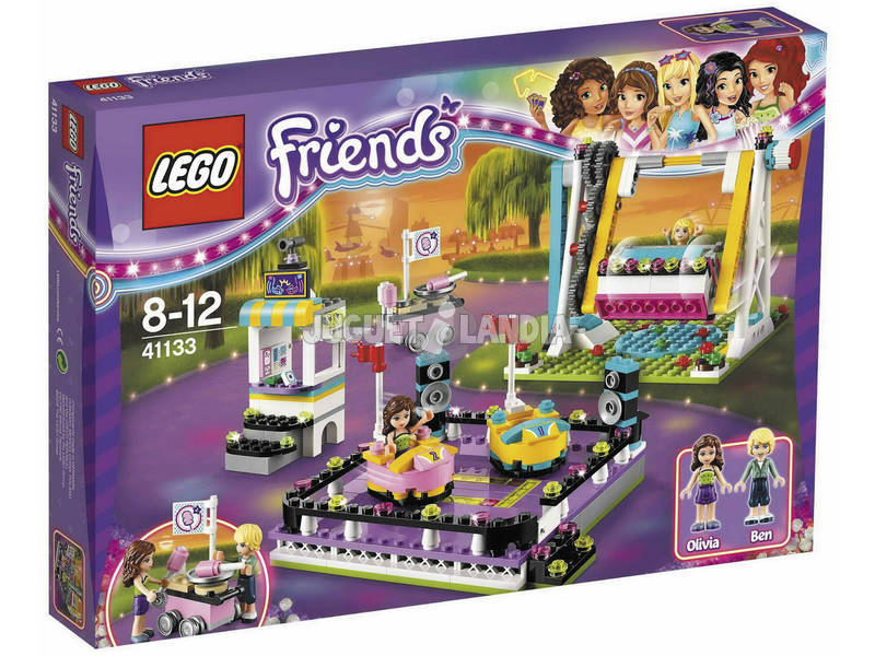Lego Friends Parque Atracciones Coches de Choque