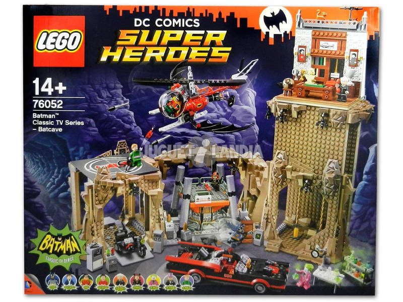 Lego Exclusivas Classic TV Series Batcave 76052