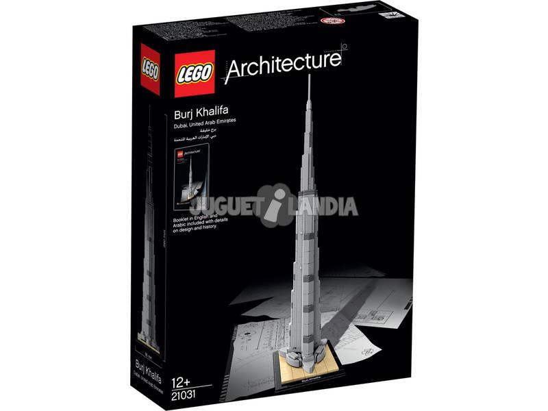 Lego Arquitectura Burj Kahlifa