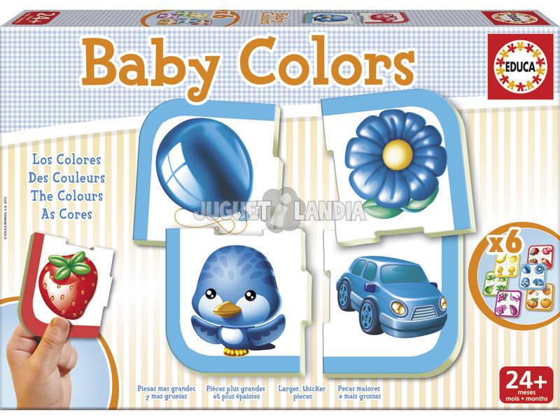 Juego de Mesa Baby Colors Educa 15861