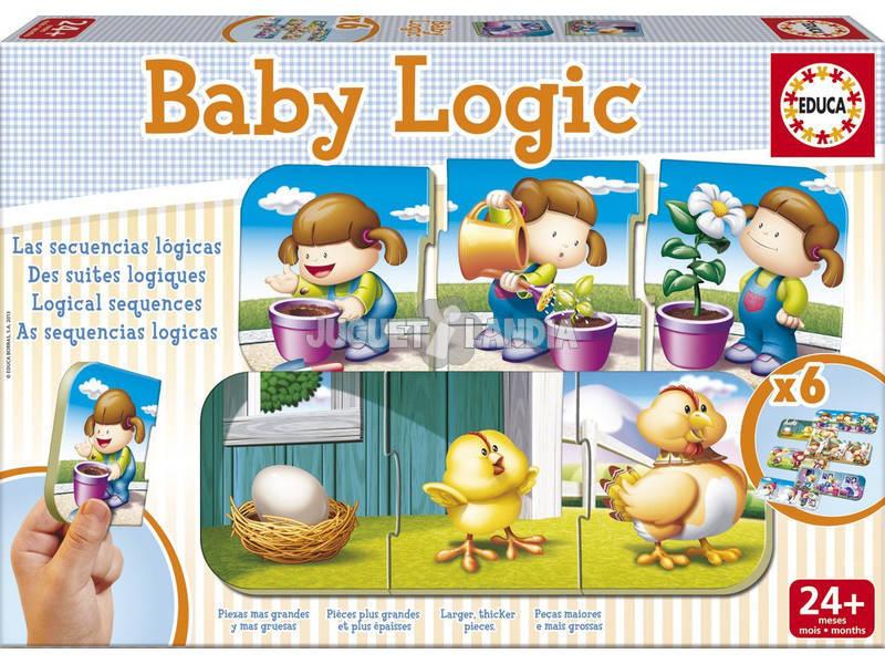 Jogo de Tabuleiro Baby Logic EDUCA 15860