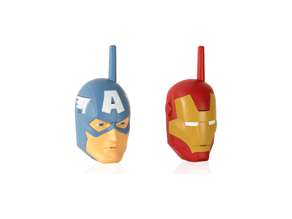 Walkie Talkie Cara Avengers