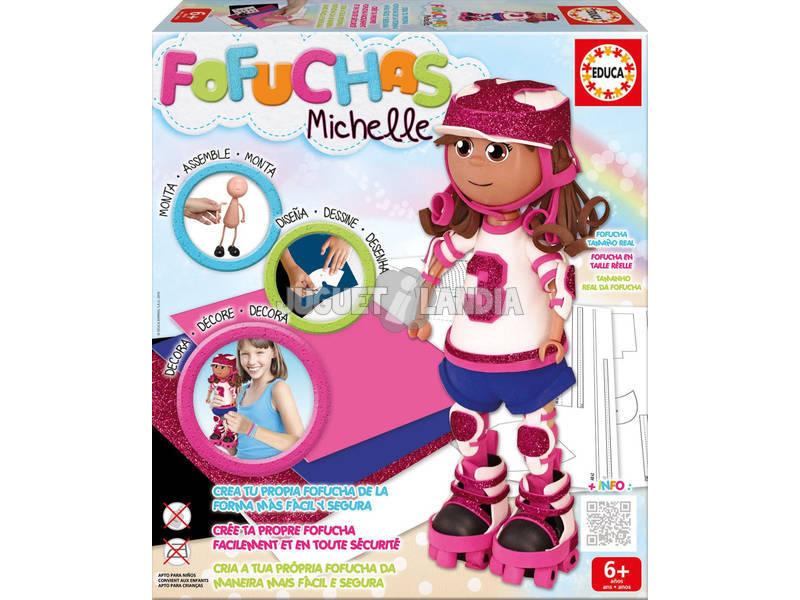 Boneca Fofucha Michelle Skater Educa Educaciones 16793
