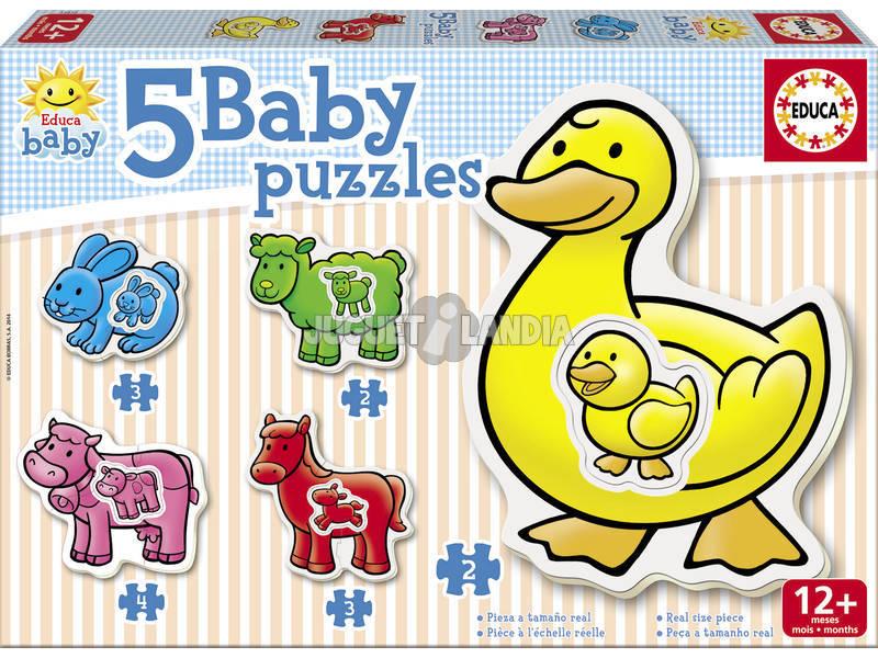 Baby Puzzle La Granja Educa 14865