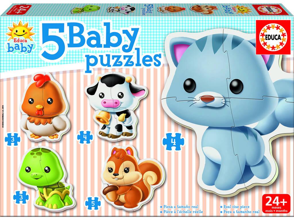 Baby Puzzle Animali