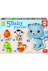 Baby Puzzle Animaux
