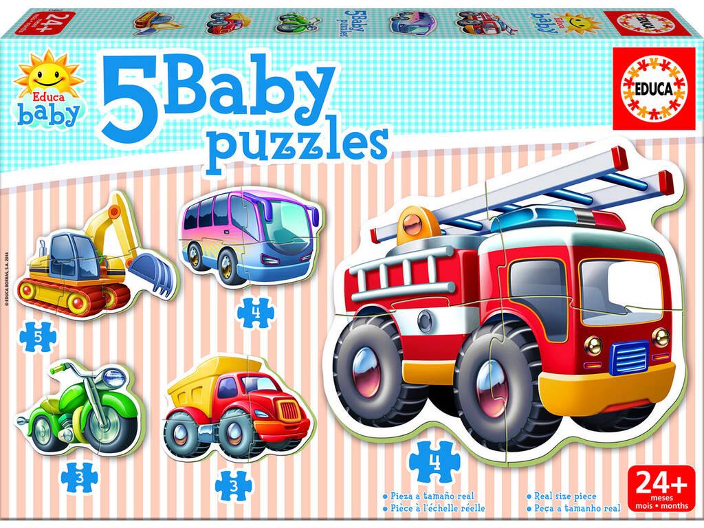 Baby Puzzle Vehiculos