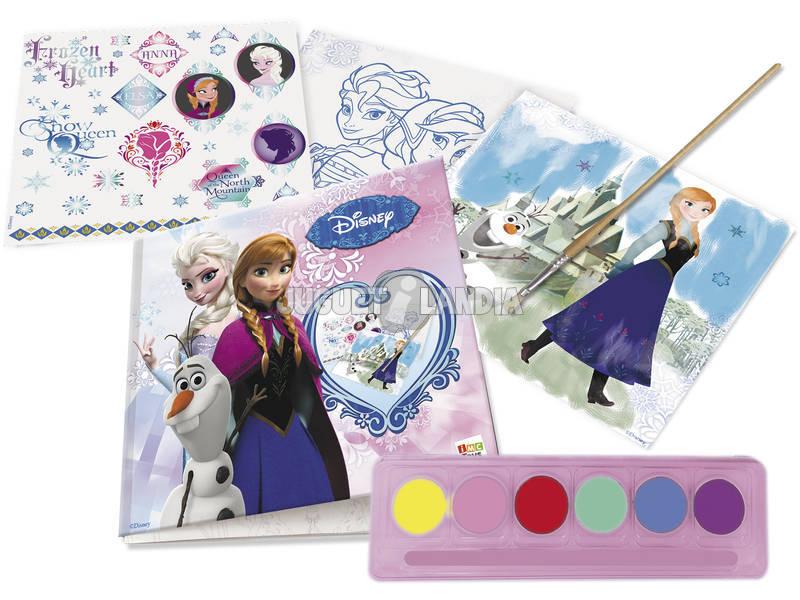 Set de Diseño y Acuarelas Frozen