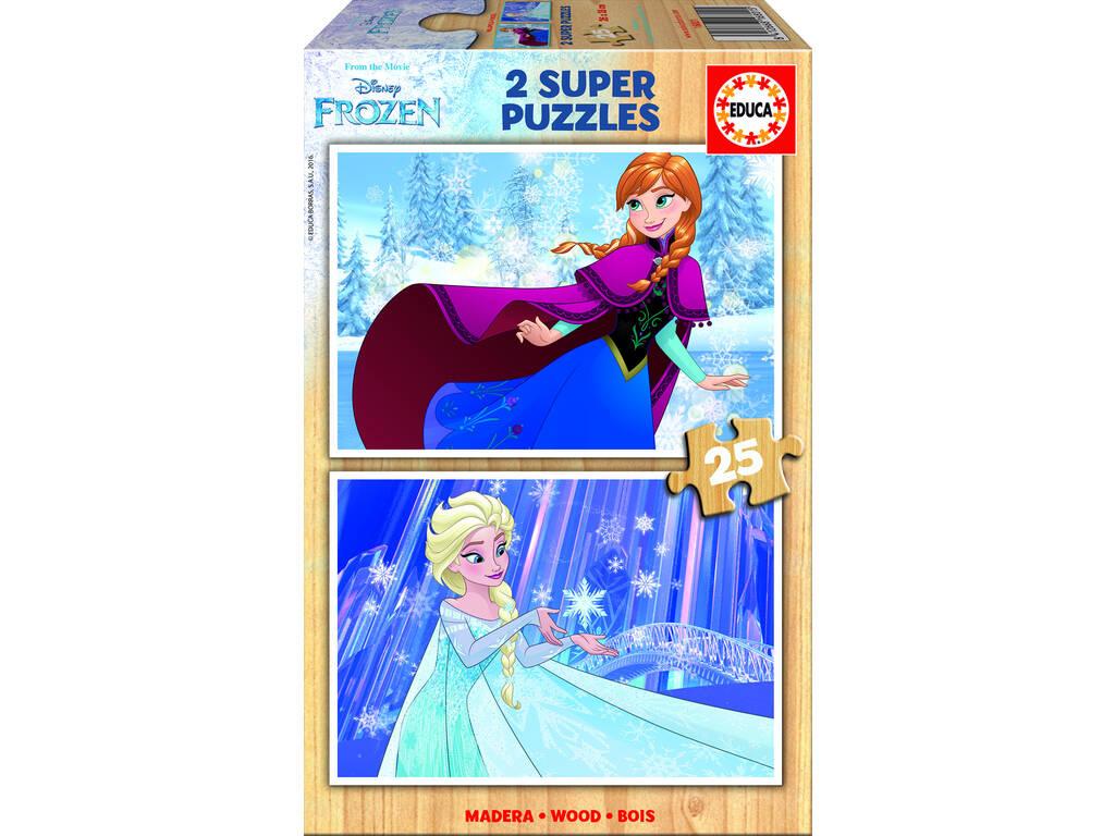 Puzzle 2x25 Frozen