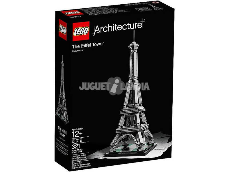 Lego Aquitectura Torre Eiffel 21019