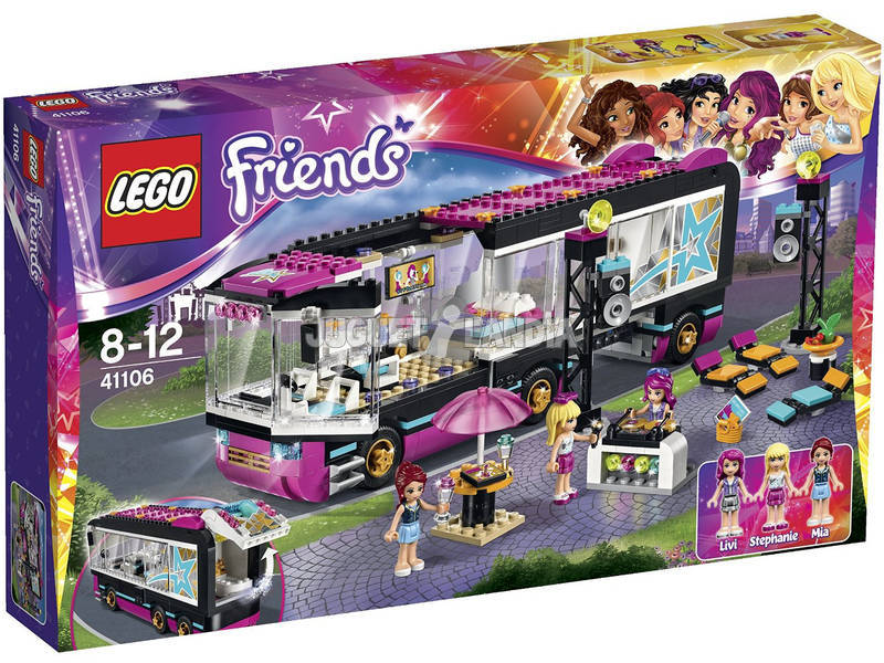 Lego Friends Pop Star Autobus