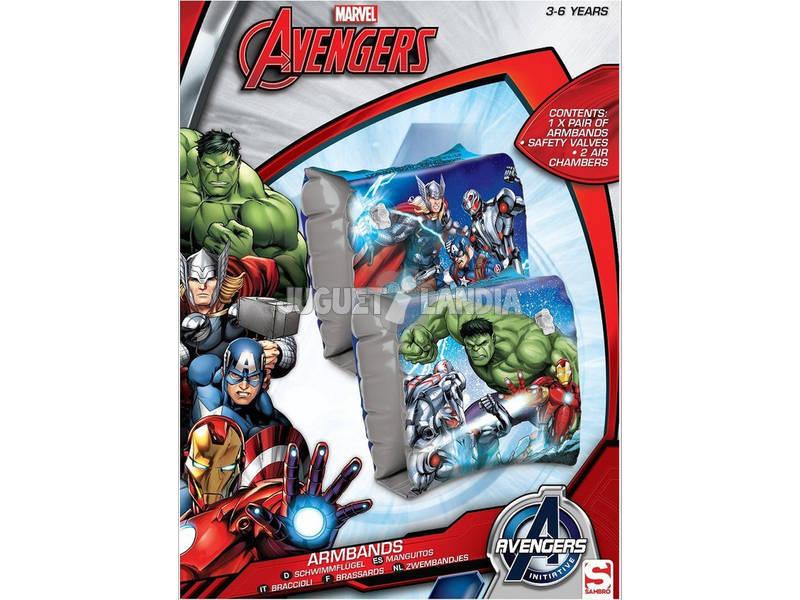 Avengers Brazaletes Hinchables
