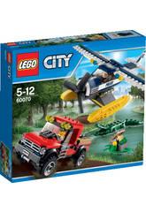 Lego City Persecuci�n en Hidroavi�n
