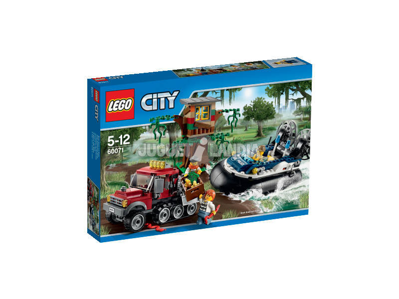Lego City Arresto con l'hovercraft