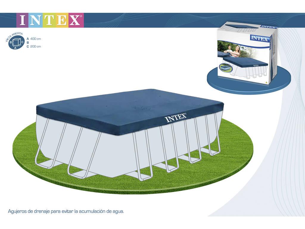 Cubierta para piscina 460x226 cm intex 28039 juguetilandia - Cubre piscinas intex ...