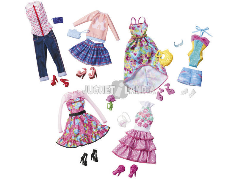 Barbie Pack Moda Fiesta