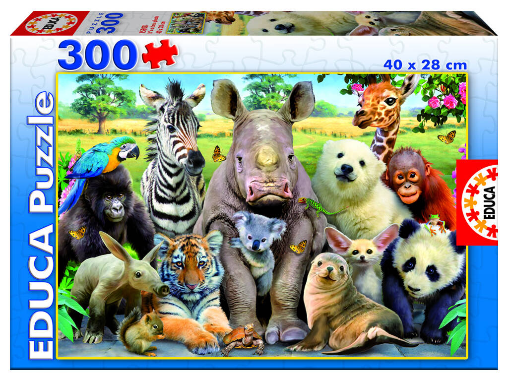 Puzzle 300 Faunia Educa 15908