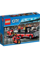 Lego City Transporte de la Moto de Carreras
