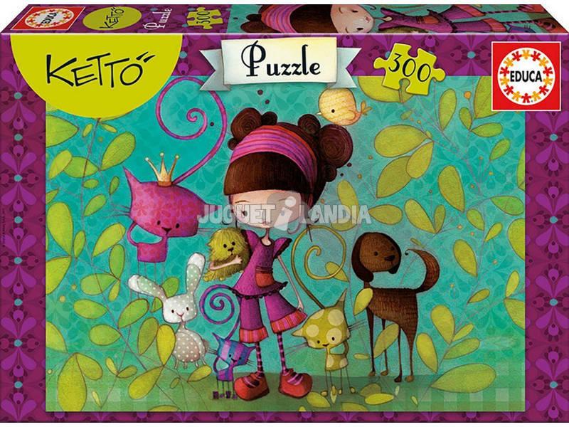 Puzzle 300 Ketto Educa 16814