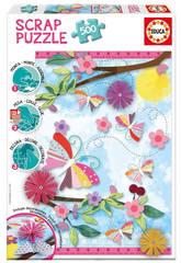 Puzzle 500 Garden Art Scrap Puzzles Educa 16738