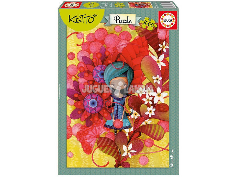 Puzzle 1000 Blue Lady, Ketto