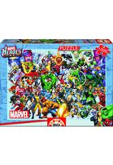 Puzzle Les Héros De Marvel 1000 Pièces