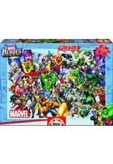 Puzzle 1000 Marvel Heroes Educa 15193