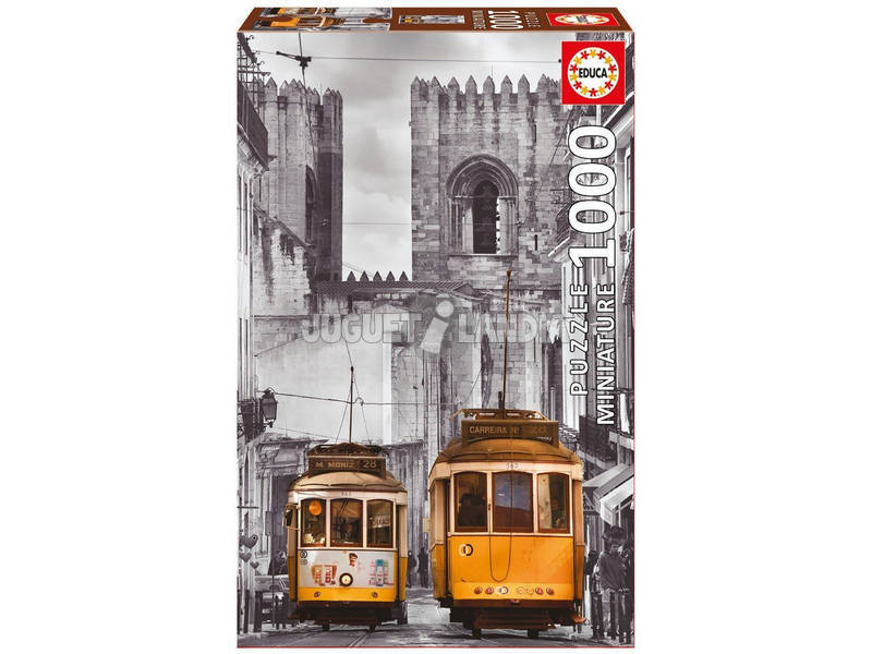 Puzzle 1000 Quartiere di La Alfama, Lisbona