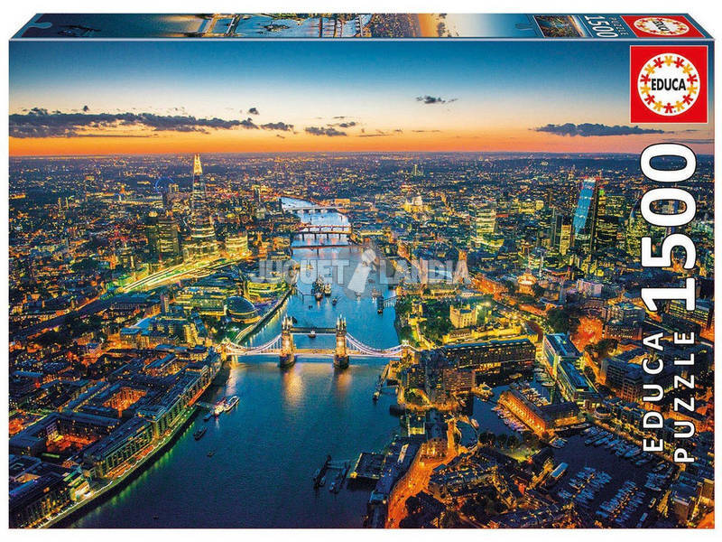 Puzzle 1500 London Aerial View