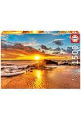 Puzzle 1500 Atardecer en Maui Educa 16771