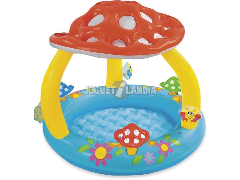 acheter piscine b b champignon 102x89 cm juguetilandia