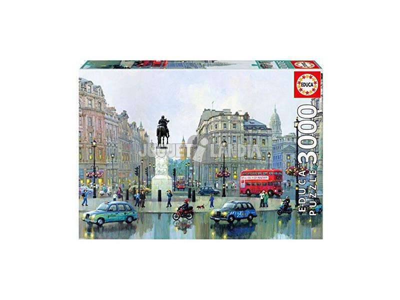 Puzzle 3000 Londra Charing Cross, Alexander Chen