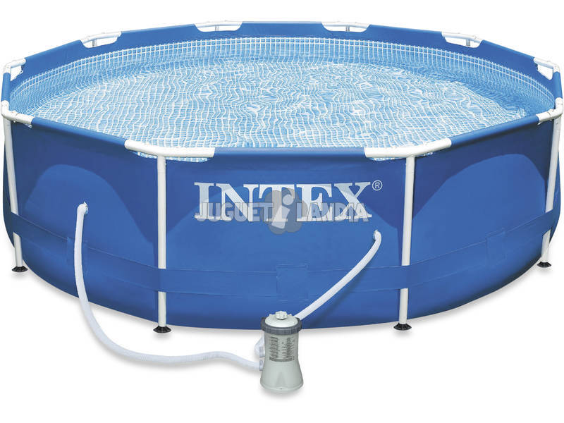piscina desmontable 305x76 cm intex 28202 juguetilandia