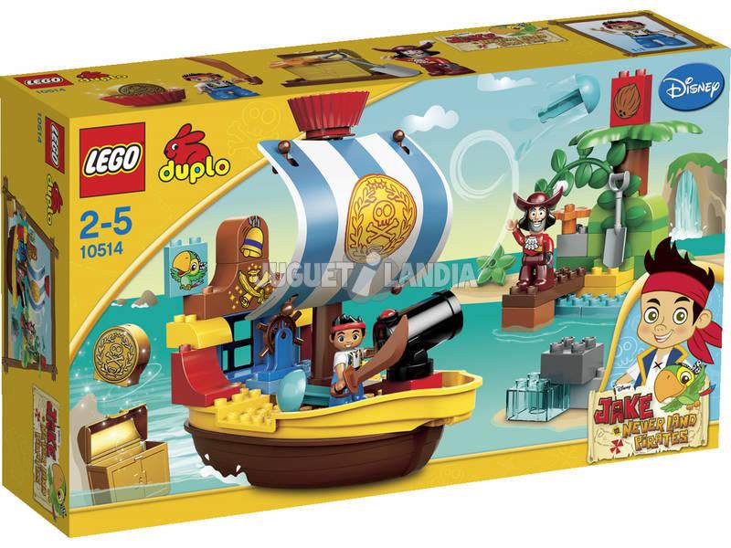 Lego Duplo Jake y el Barco Pirata Bucky