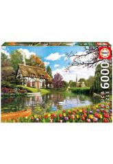 Puzzle 6000 Printemps Sur Le Lac