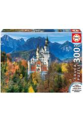 imagen Puzzle 300 XXL Castillo de Neuschwanstein 38x28 cm EDUCA 16744