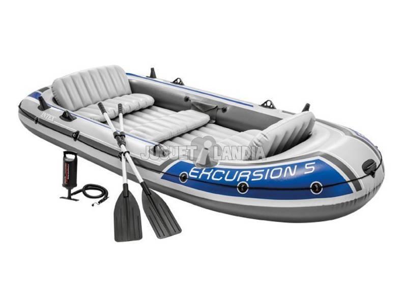 Barca Excursão 366x168x43 cm. Intex 68325