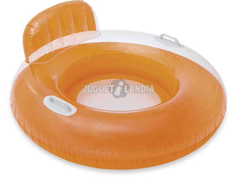 Bouée Gonflable avec Dossier 102 cm Intex 56512NP