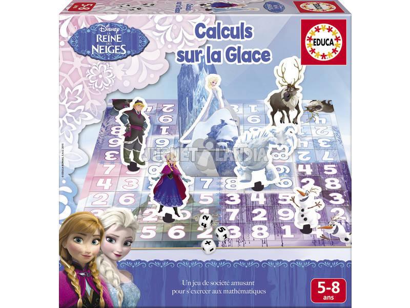Éducatif Frozen Calculs Sur La Glace
