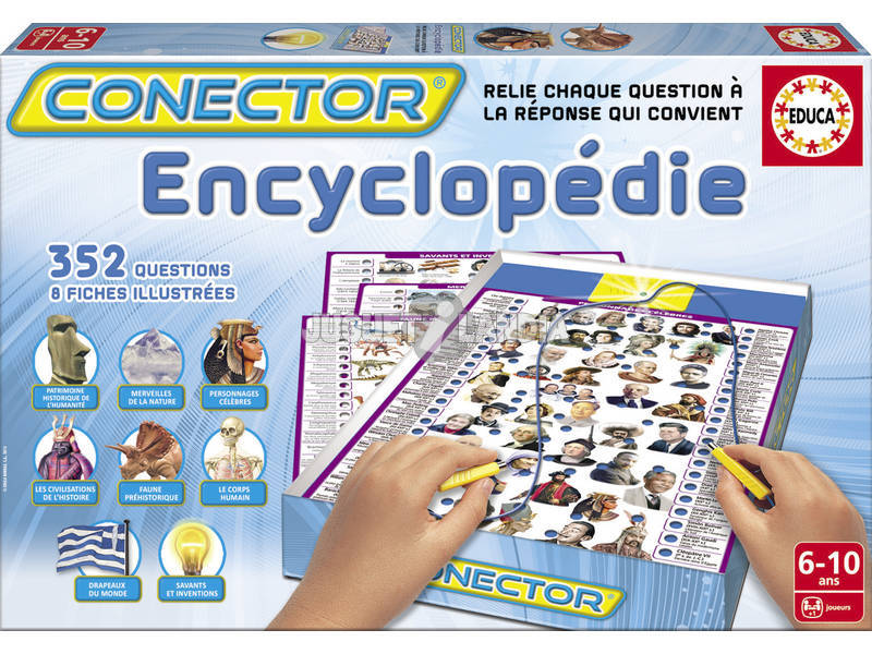 Conector L'Encyclopédie Educa 14566