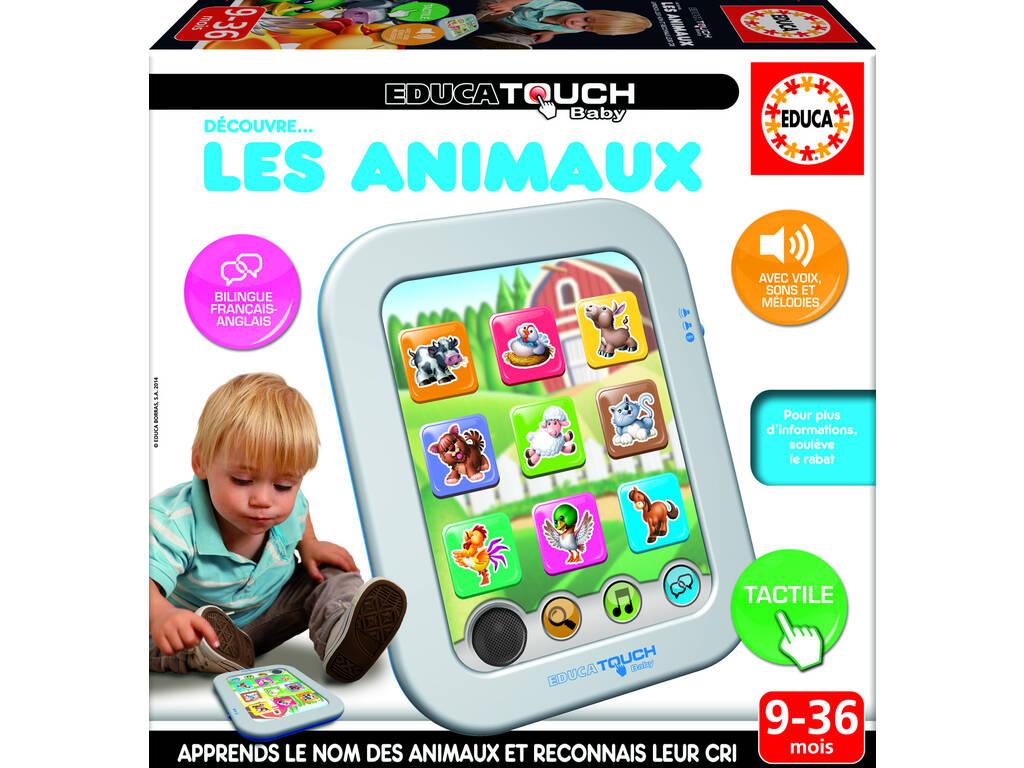 Educa Touch Baby Découvre Les Animaux