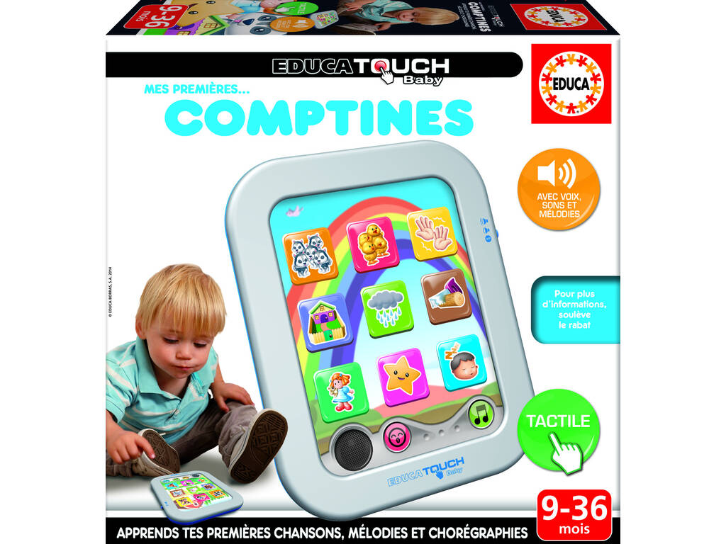 Educa Touch Baby Mes Premières Comptines