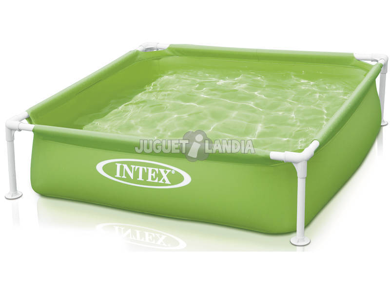 Piscina Desmontable Verde 122x122x30 Cm Intex 57172NP