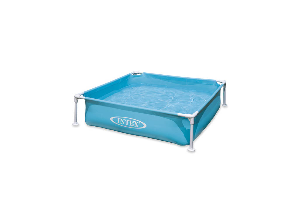 Piscina Desmontable Azul 122x122x30 Cm Intex 57173NP