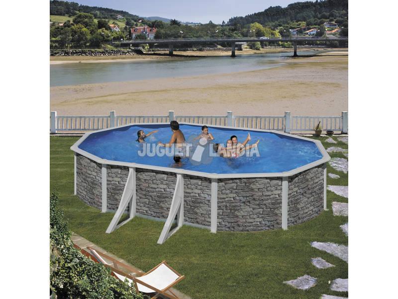 Acheter piscine hors sol autoportante gre pierres ovale for Acheter piscine autoportante