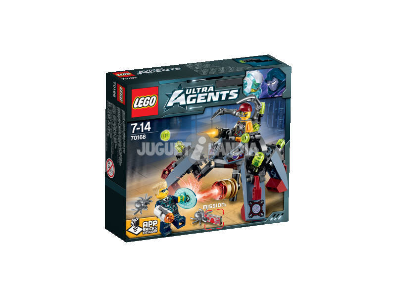 Lego Agents La Infiltración de Spyclops