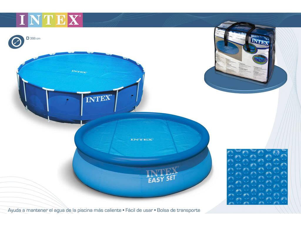 Acheter b che solaire pour piscines de 366 cm intex 29022 for Bache solaire pour piscine